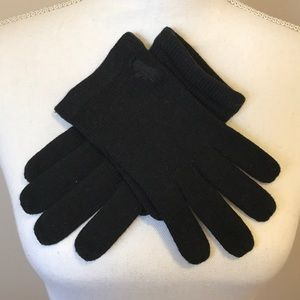 Juicy Couture black gloves